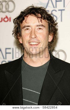 HOLLYWOOD - NOVEMBER 10: Steve Coogan at the AFI Fest 2006 Screening of
