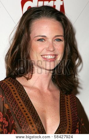 LOS ANGELES - DECEMBER 09: Sprague Grayden at the premiere of the FX original drama series