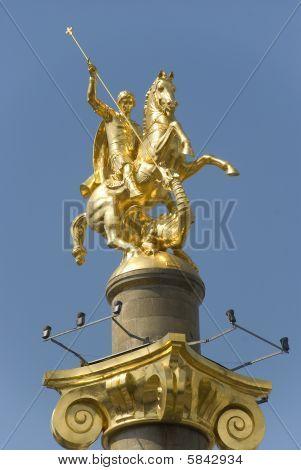 Saint George Denkmal