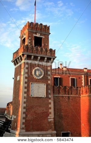 Tower details, Venice
