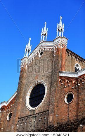 Church facade, Venice