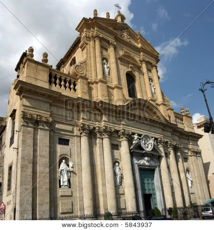 A beautiful church in the Kalsa district, Palermo