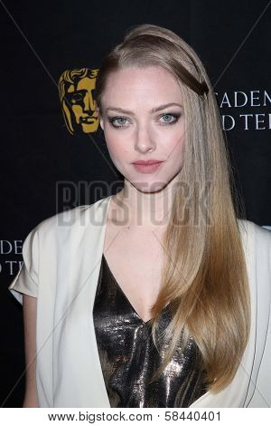 Amanda Seyfried at the BAFTA Los Angeles 2013 Awards Season Tea Party, Four Seasons Hotel, Los Angeles, CA 01-12-13