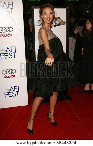 Svetlana Metkina at the AFI Fest 2006 Opening Night Premiere of