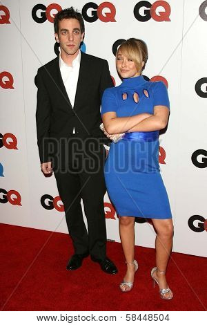 LOS ANGELES - NOVEMBER 29: B.J. Novak and Hayden Panettiere at the GQ Man of the Year Awards at Sunset Tower Hotel November 29, 2006 in Los Angeles, CA.