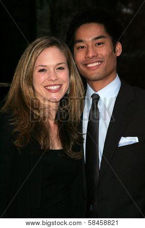 Alicia Ziegler and John Winn at the 11th Annual Multicultural Prism Awards. Sheraton Universal Hotel, Universal City, California. December 10, 2006.