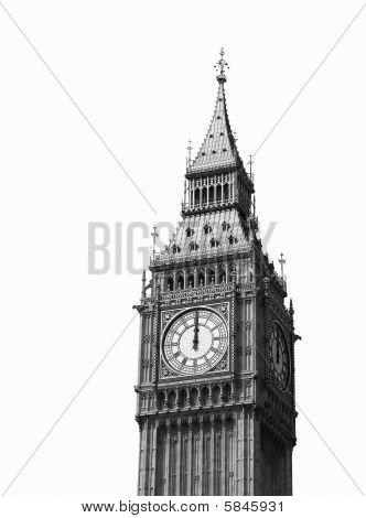 Big Ben. Isolated.