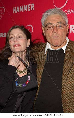 Lauren Shuler Donner and Richard Donner at the Billy Wilder Theater Opening Tribute. Hammer Museum, Westwood, California. December 3, 2006.