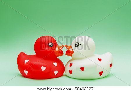 Kiising Ducks