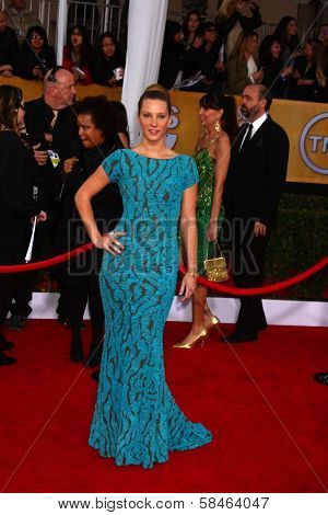 Heather Morris at the 19th Annual Screen Actors Guild Awards Arrivals, Shrine Auditorium, Los Angeles, CA 01-27-13