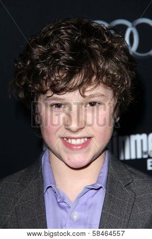 Nolan Gould at the Entertainment Weekly Pre-SAG Party, Chateau Marmont, West Hollywood, CA 01-26-13