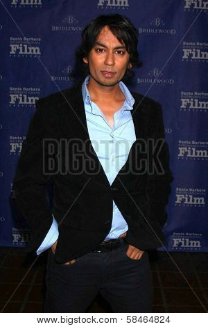 Vik Sahay at the SBIFF Montecito Award 2013 Honoring Daniel Day-Lewis, Arlington Theater, Santa Barbara, CA 01-26-13