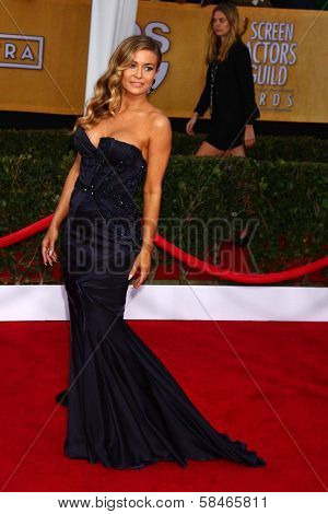 Carmen Electra at the 19th Annual Screen Actors Guild Awards Arrivals, Shrine Auditorium, Los Angeles, CA 01-27-13