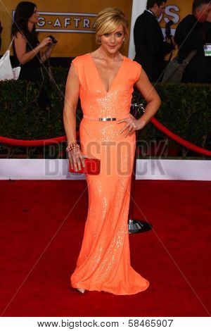 Jane Krakowski at the 19th Annual Screen Actors Guild Awards Arrivals, Shrine Auditorium, Los Angeles, CA 01-27-13