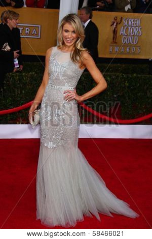 Katrina Bowden at the 19th Annual Screen Actors Guild Awards Arrivals, Shrine Auditorium, Los Angeles, CA 01-27-13