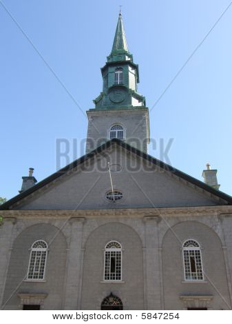 A Famous Church in Quebec City, Canada poster