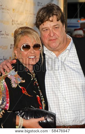 Roseanne Barr and John Goodman at The Trevor Project's