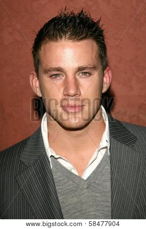 Channing Tatum at the Hollywood Life Magazine's Breakthrough of the Year Awards. Music Box, Hollywood, California. December 10, 2006.