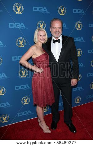 Kayte Walsh, Kelsey Grammer at the 65th Annual Directors Guild Of America Awards Arrivals, Dolby Theater, Hollywood, CA 02-02-13