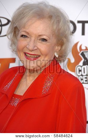 STUDIO CITY, CA - AUGUST 13: Betty White at