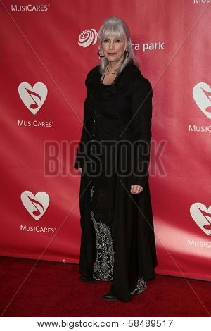 Emmylou Harris at MusiCares Person Of The Year Honoring Bruce Springsteen, Los Angeles Convention Center, Los Angeles, CA 02-08-13