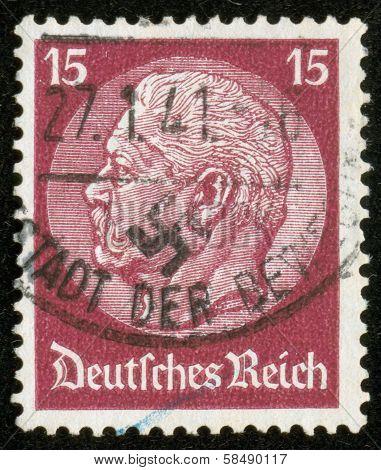Stamp Of Fascist Germany