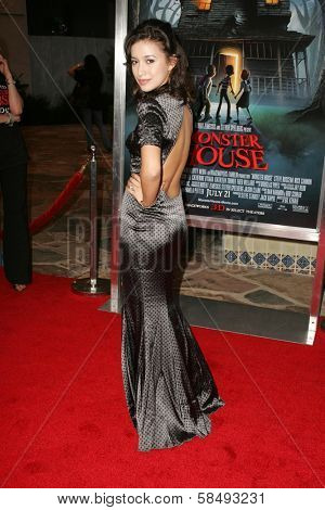 WESTWOOD - JULY 17: Christian Serratos at the premiere of