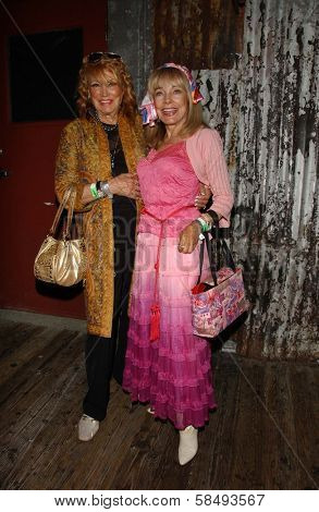 WEST HOLLYWOOD - JULY 30: Gita Hall and Terry Moore at Corey Feldman's Birthday Party at House of Blues July 30, 2006 in West Hollywood, CA