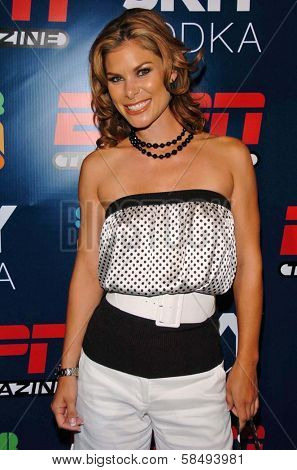 HOLLYWOOD - JULY 11: Jamie Little at ESPN The Magazine's