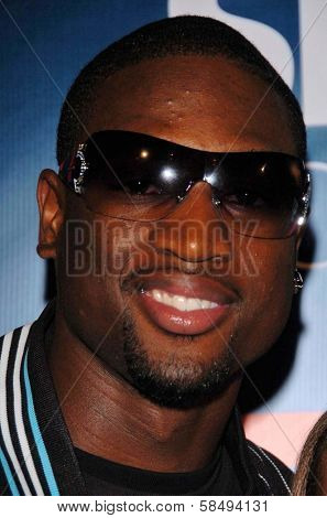 HOLLYWOOD - JULY 11: Dwayne Wade at ESPN The Magazine's