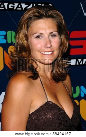 HOLLYWOOD - JULY 11: Melanie Troxel at ESPN The Magazine's