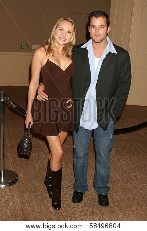 BEVERLY HILLS - NOVEMBER 03: Alana Curry and Burke Bryant at the