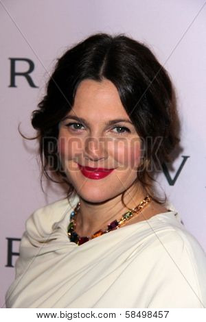 Drew Barrymore at the Elizabeth Taylor Bvlgari Jewelry Collection Unveiling, Bvlgari Beverly Hills, CA 02-19-13