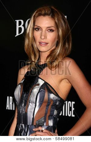 Dawn Olivieri at the 6th Annual Hollywood Domino Pre-Oscar Gala & Tournament, Sunset Tower, West Hollywood, C A 02-21-13