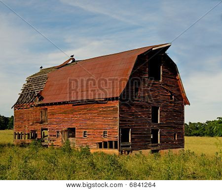 Old Abandoned Barns in the country.