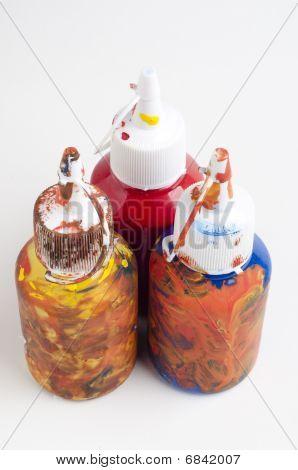 Messy Paint Pots