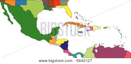 Central America to USA, Countries