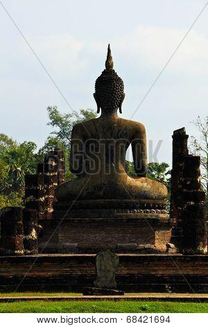Sukhotai Ruin Old City Country Thailand