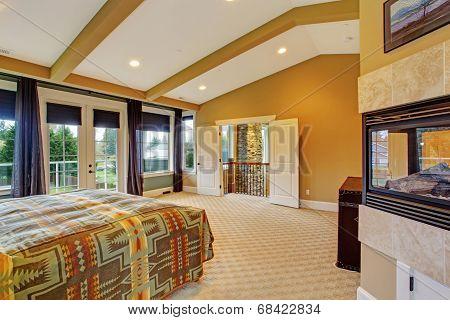 Master Bedroom Interior In Luxury House