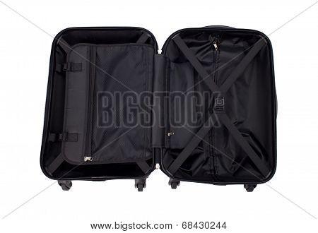 opened luggage