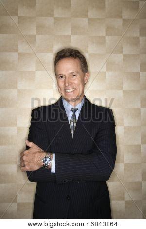Smiling Businessman Portrait