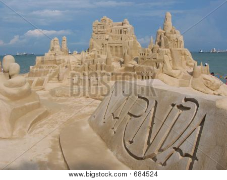 Narnia Sand Castles @ Singapore