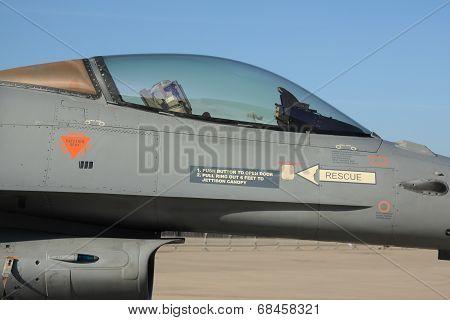 F16 Cockpit Closeup