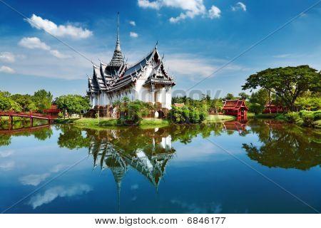 Sanphet Prasat Palace Ancient City Bangkok Thailand poster