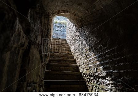 Staircase Up From A Stockpile