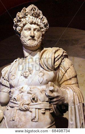 Roman Emperor Hadrian