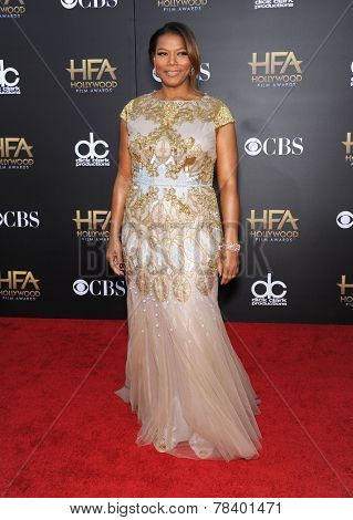 LOS ANGELES - NOV 14:  Queen Latifah arrives to the The Hollywood Film Awards 2014 on November 14, 2014 in Hollywood, CA