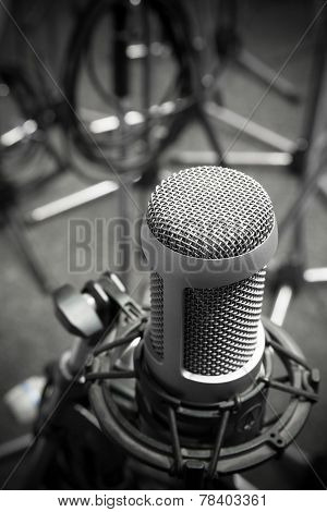 Old Microphone