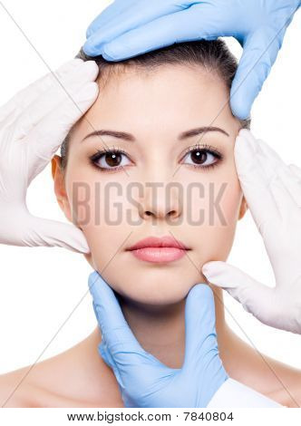 Plastic Surgeons And Beauty Face