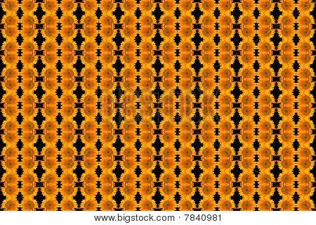 Sunflower Pattern Background